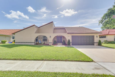 Boynton Beach Single Family Home For Sale: 2412 SW 23rd Cranbrook Drive