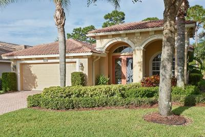 Port Saint Lucie Single Family Home Contingent: 9144 Pumpkin Ridge E