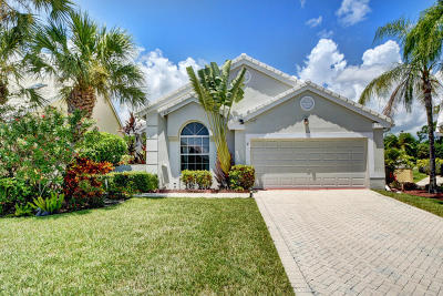 Boynton Beach Single Family Home For Sale: 8282 Horseshoe Bay Road