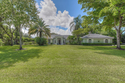 Palm Beach Gardens Single Family Home For Sale: 5956 Whirlaway Road