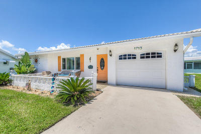 Boynton Beach Single Family Home For Sale: 1713 SW 16th Street