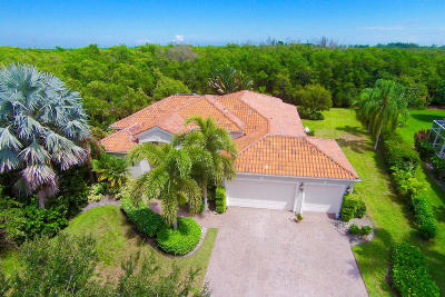 Hobe Sound Single Family Home Contingent: 9727 SE Osprey Pointe Drive