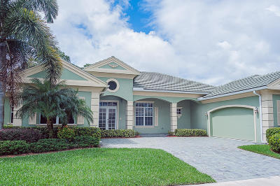 Port Saint Lucie Single Family Home For Sale: 9319 Scarborough Court