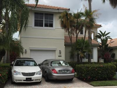 West Palm Beach Townhouse For Sale: 8201 Sandpiper Way