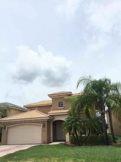 West Palm Beach Single Family Home For Sale: 6671 Traveler Road