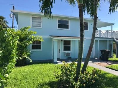 West Palm Beach Single Family Home For Sale: 812 W Lakewood Road