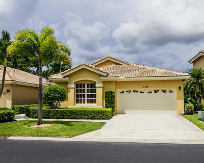 West Palm Beach Single Family Home For Sale: 8277 Quail Meadow Way