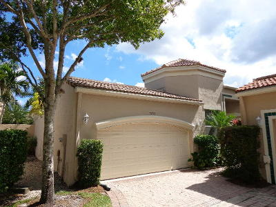 West Palm Beach Single Family Home For Sale: 7706 Larkspur Lane