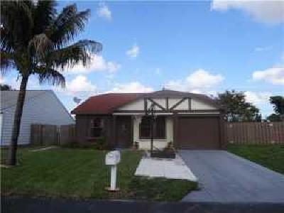 Boca Raton Single Family Home For Sale: 11109 E Model Circle
