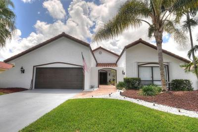 Boca Raton Single Family Home For Sale: 10124 Harbourtown Court