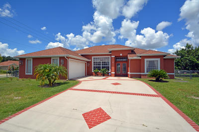 Port Saint Lucie Single Family Home For Sale: 691 SW Montana Terrace