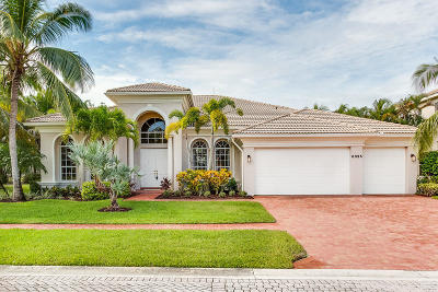 Boynton Beach Single Family Home For Sale: 6825 Cobia Circle