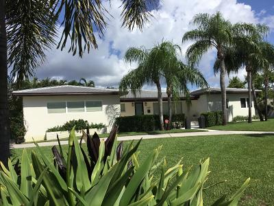 Lake Worth Single Family Home For Sale: 2401 Lakeside Drive