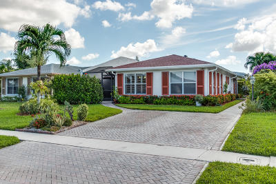 Lake Worth Single Family Home For Sale: 3846 Service Court