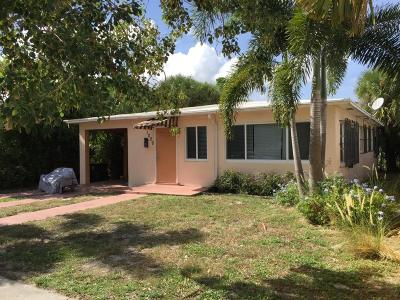 West Palm Beach Single Family Home For Sale: 1009 10th Street
