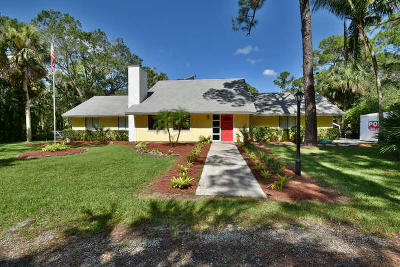 Jupiter Single Family Home For Sale: 17831 113th Terrace