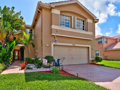 Boynton Beach Single Family Home For Sale: 7124 Chesapeake Circle