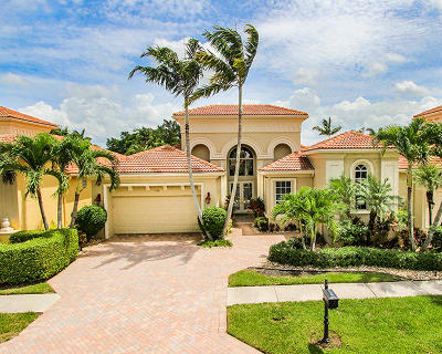 West Palm Beach Single Family Home For Sale: 7130 E Tradition Cove Lane E