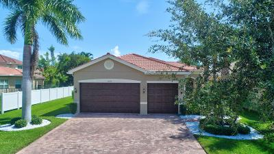 Boynton Beach Single Family Home For Sale: 11074 Bitternut Hickory Lane