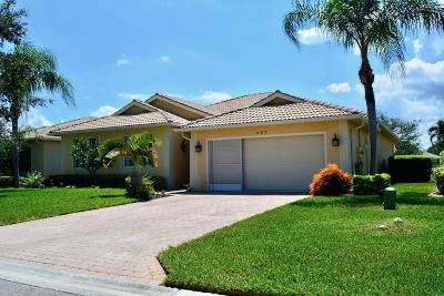 Port Saint Lucie Single Family Home For Sale: 583 NW Waverly Circle