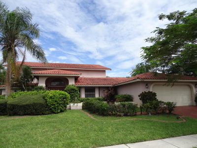 Boca Raton Single Family Home For Sale: 5599 Marbella Drive