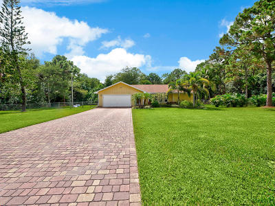 Palm Beach Gardens Single Family Home For Sale: 15611 76th Trail North