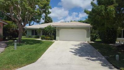 Boca Raton Single Family Home For Sale: 5984 Colony Court