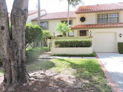 Boca Raton Single Family Home For Sale: 7720 La Mirada Drive