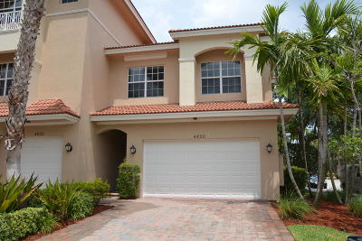 Townhouse Closed: 4800 Sawgrass Breeze Drive