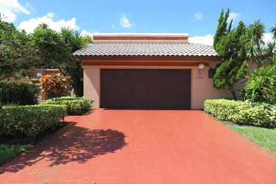 Boca Raton Single Family Home For Sale: 6526 Via Benita