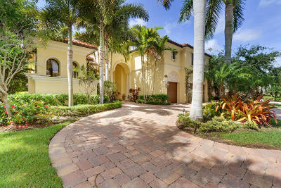 Palm Beach Gardens FL Single Family Home For Sale: $1,999,000