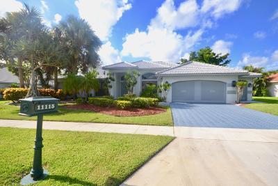 Boca Raton Single Family Home For Sale: 11115 Boca Woods Lane