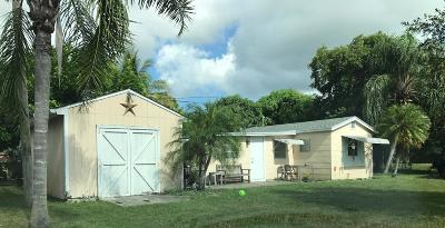 Lake Worth Single Family Home For Sale: 3859 Kirk Road