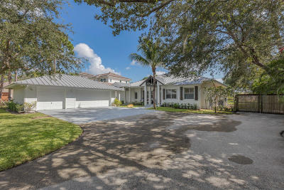 Jupiter Single Family Home For Sale: 19183 SE Jupiter River Drive