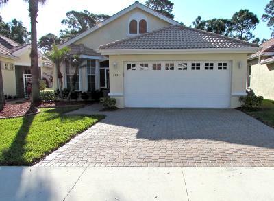 Port Saint Lucie Single Family Home For Sale: 773 SW St Croix Cove