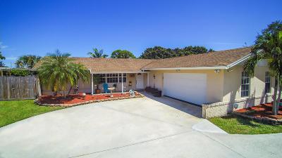 Palm Beach Gardens Single Family Home For Sale: 9802 Military Trail