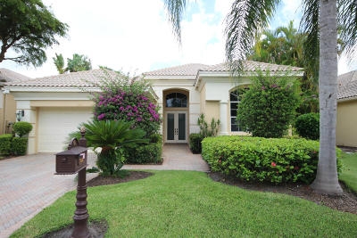 Delray Beach Single Family Home For Sale: 7847 L Aquila Way