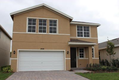 Lake Worth Single Family Home For Sale: 4046 Tomoka Drive