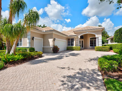 Palm Beach Gardens Single Family Home For Sale: 113 San Marco Drive