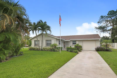 Lake Worth Single Family Home For Sale: 3484 Chickasaw Circle