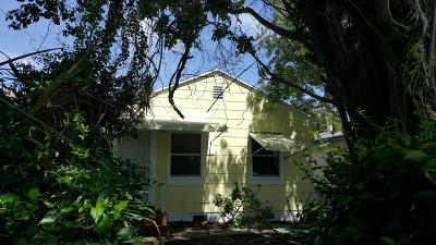 Lake Worth Single Family Home For Sale: 214 S D Street