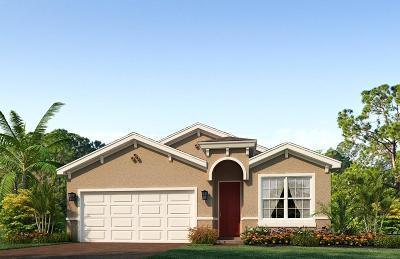 Lake Worth Single Family Home For Sale: 4071 Tomoka Drive
