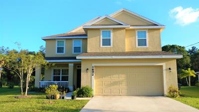 Port Saint Lucie Single Family Home For Sale: 1692 SW Ruiz Terrace