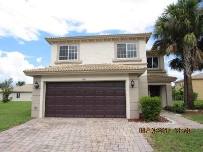 Port Saint Lucie Single Family Home For Sale: 2875 SW Cape Breton Drive