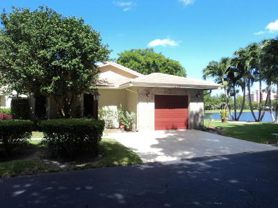 Deerfield Beach Single Family Home For Sale: 446 Lake Point S Lane