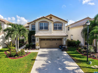 Boynton Beach Single Family Home Contingent: 7586 Colony Palm Drive