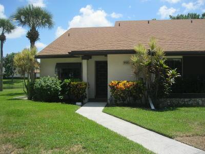 Boca Raton Single Family Home For Sale: 8432 Boca Glades Boulevard E