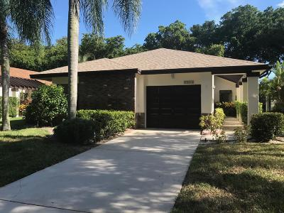 Boynton Beach Single Family Home For Sale: 4716 Boxwood Circle