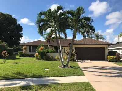 Boynton Beach Single Family Home For Sale: 10830 Green Trail Drive S