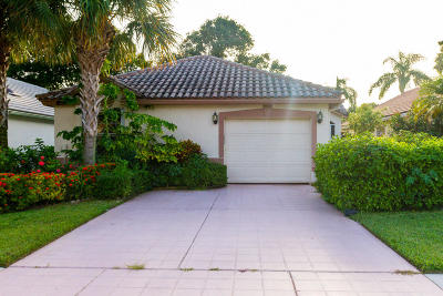 Boynton Beach Single Family Home For Sale: 6114 Bay Isles Drive